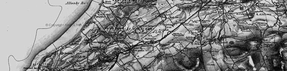 Old map of Westmoor End in 1897