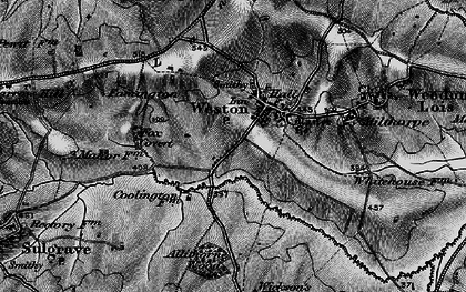Old map of Allithorne Wood in 1896