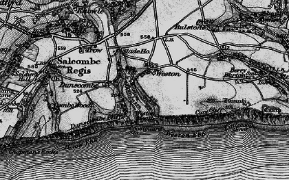Old map of Weston Combe in 1897