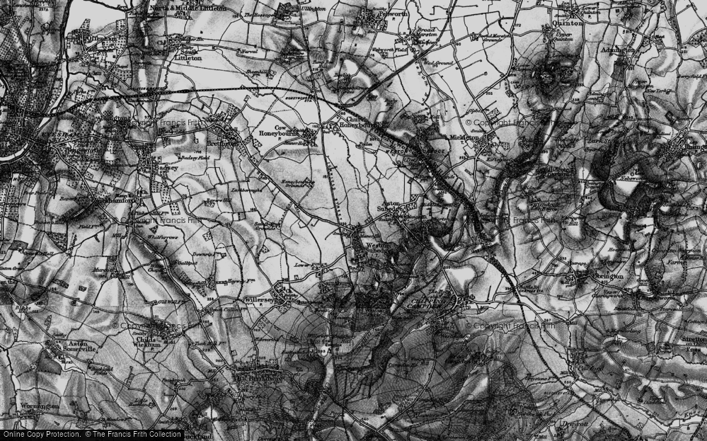 Weston-sub-Edge, 1898