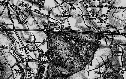 Old map of Weston Under Lizard in 1897