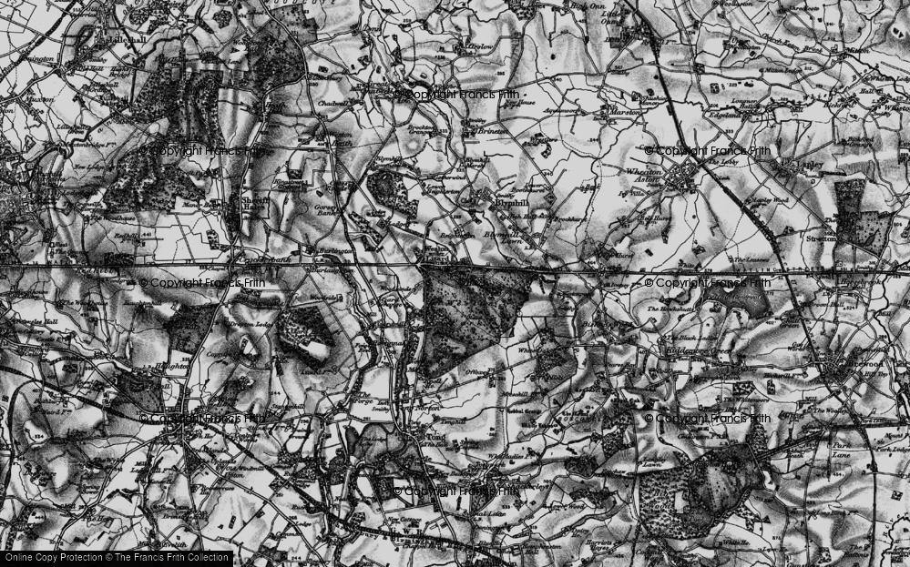 Weston Under Lizard, 1897