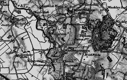 Old map of Westoncommon in 1897