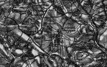 Old map of Westowe in 1898