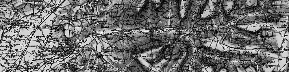 Old map of Westown in 1898