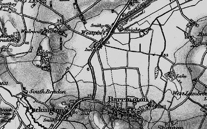 Old map of Westport in 1898