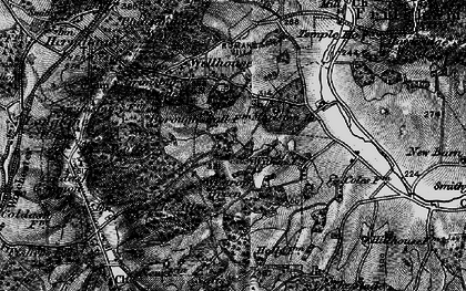 Old map of Westrop Green in 1895