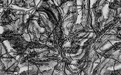 Old map of Westville in 1897