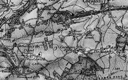 Old map of Westwells in 1898