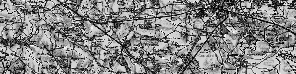 Old map of Westwood Heath in 1899