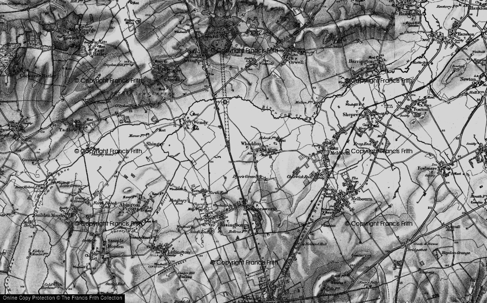 Whaddon Gap, 1896