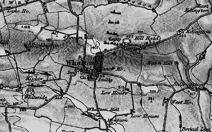 Old map of Whalton in 1897