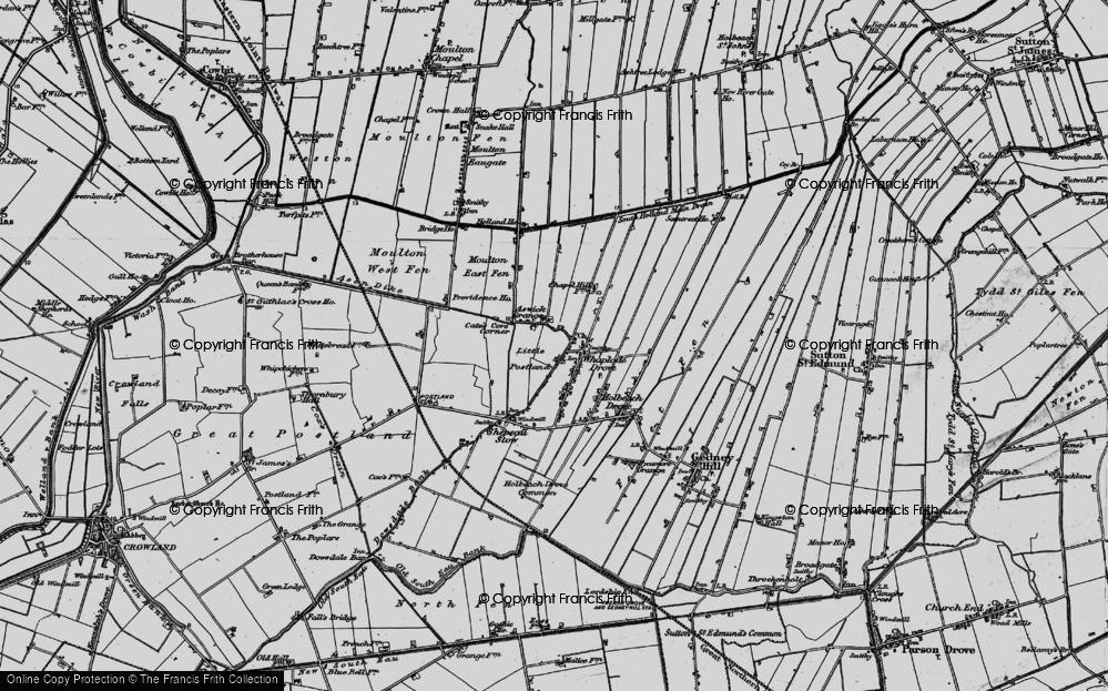 Whaplode Drove, 1898