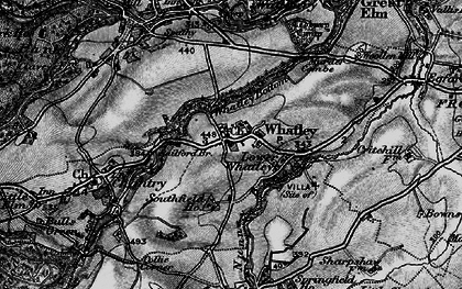Old map of Whatley in 1898