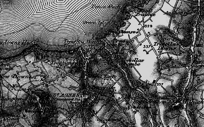 Old map of Wheal Kitty in 1895