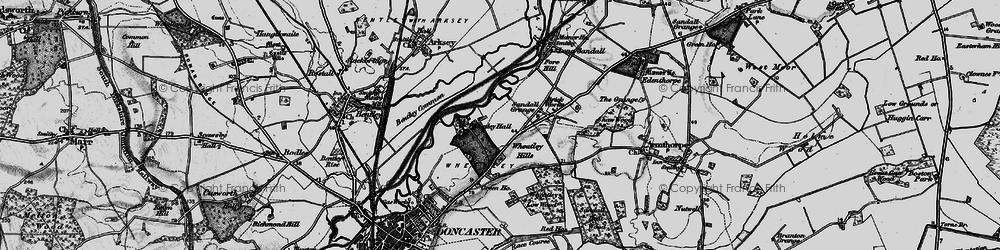 Old map of Wheatley Park in 1895