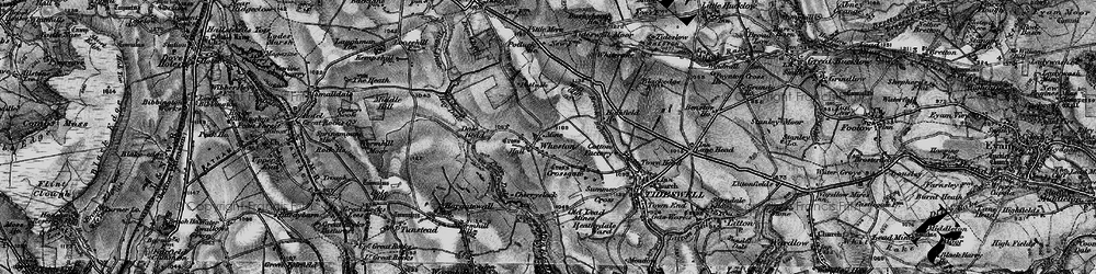 Old map of Tides Low in 1896
