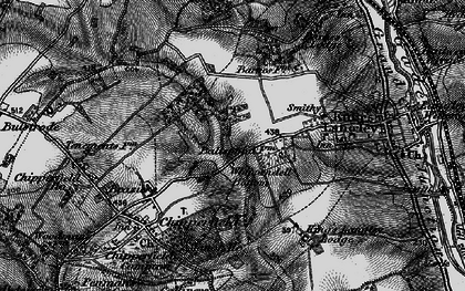 Old map of Whippendell Bottom in 1896