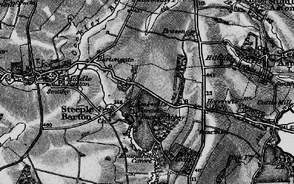 Old map of Whistlow in 1896