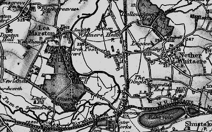 Old map of Whitacre Heath in 1899