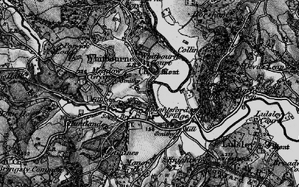 Old map of Whitbourne in 1898