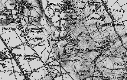 Old map of Whitbyheath in 1896