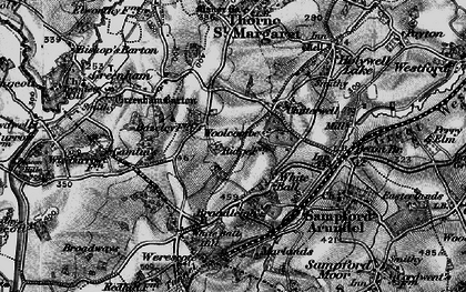 Old map of White Ball in 1898
