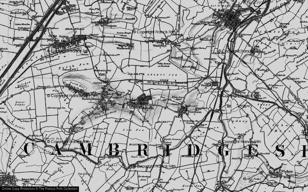 White Cross Hill, 1898