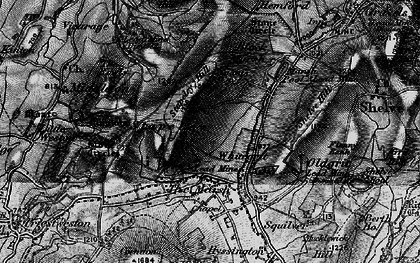 Old map of White Grit in 1899