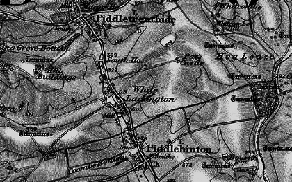 Old map of White Lackington in 1898