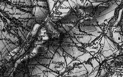 Old map of White-le-Head in 1898