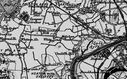 Old map of White Lund in 1898