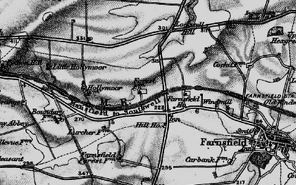 Old map of White Post in 1899