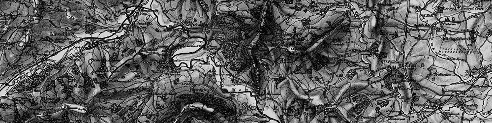 Old map of White Rocks in 1896