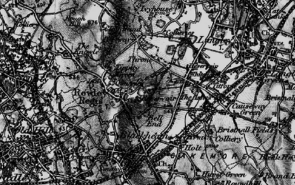 Old map of Whiteheath Gate in 1899