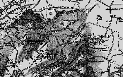Old map of Whitehouse Green in 1895