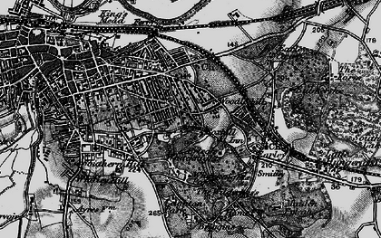 Old map of Whiteknights in 1895