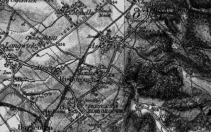 Old map of Whiteleaf in 1895