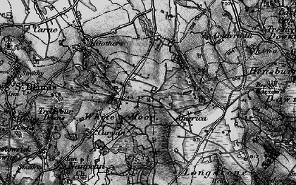 Old map of Whitemoor in 1895