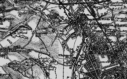 Old map of Whitemoor in 1899
