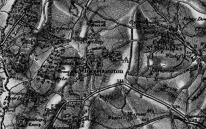 Old map of Whitestaunton in 1898