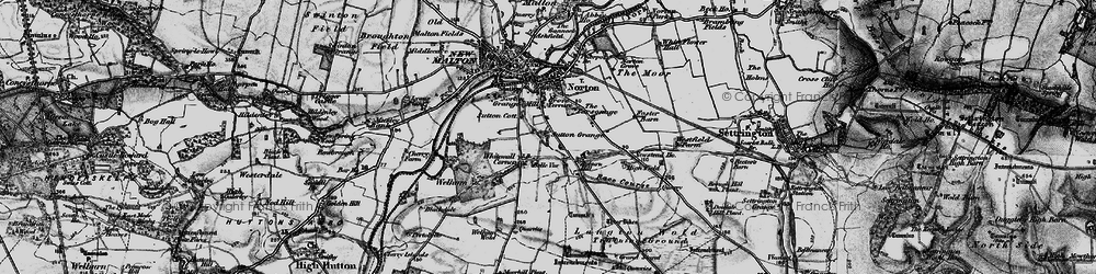 Old map of Leat Ho in 1898