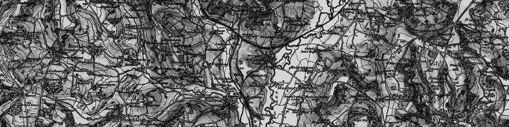 Old map of Whitford in 1898
