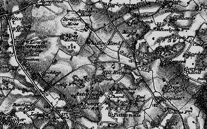 Old map of Whitley Reed in 1896