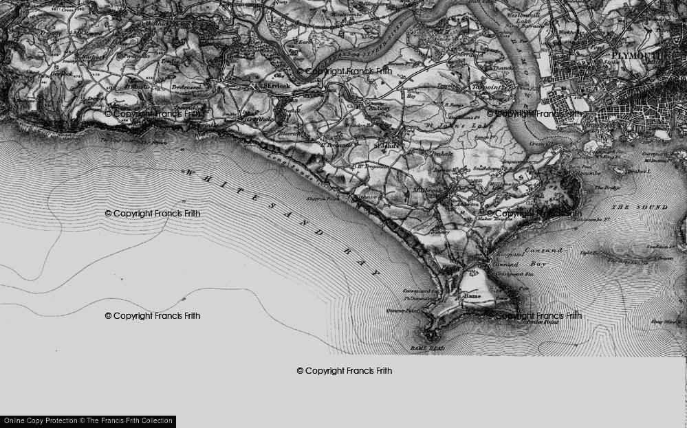 Whitsand Bay, 1896