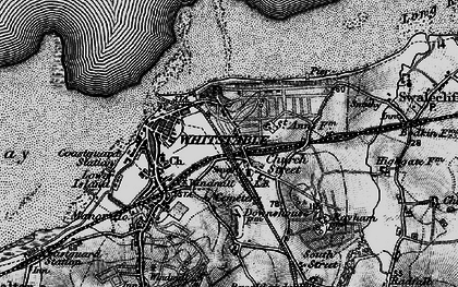 Old map of Whitstable in 1894