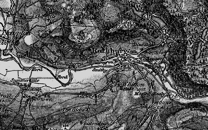 Old map of Whitton in 1897
