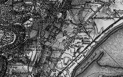 Old map of Wibdon in 1897