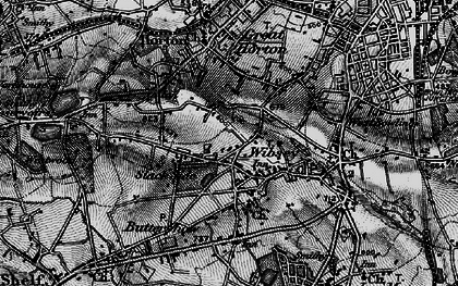 Old map of Wibsey in 1896
