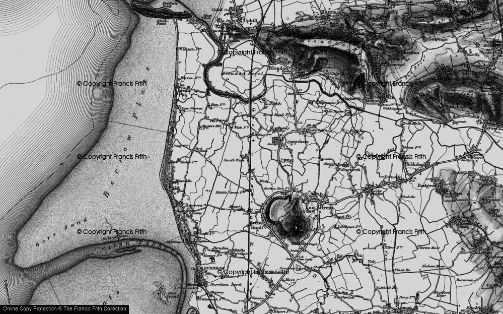 Old Map of Wick, 1898 in 1898